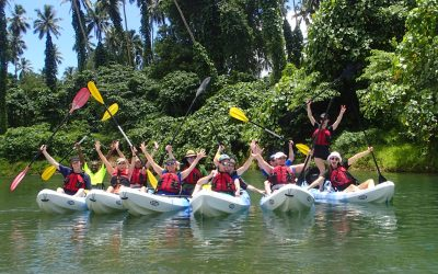Jungle River Kayaking Vanuatu – Santo's Sarakata River